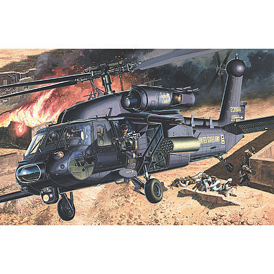 plastic model helicopters,plastic model helicopter,AH-60L Blackhawk DAP -- Plastic Model Helicopter Kit -- 1/35 Scale -- #12115