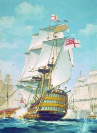 plastic model ships, ship model,HMS Victory 1765 -- Plastic Model Sailing Ship Kit -- 1/180 Scale -- #09252