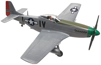 model airplane,plastic model,P-51D Mustang -- Snap Tite Plastic Model Aircraft Kit -- 1/72 Scale -- #851374