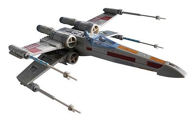 plastic model,model airplane,Star Wars X-Wing Fighter -- Snap Tite Plastic Model Spacecraft Kit -- #851856