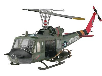 plastic model helicopters,plastic model helicopter,Bell UH-1C/B Huey Hog -- Plastic Model Helicopter Kit -- 1/48 Scale -- #04476
