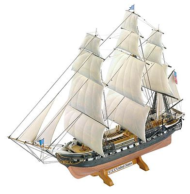plastic model ships, ship model,United States -- Plastic Model Sailing Ship Kit -- 1/150 Scale -- #05406