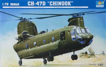 plastic model helicopters,plastic model helicopter,CH-47D Chinook Helicopter -- Plastic Model Helicopter -- 1/72 Scale -- #01622