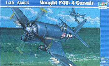 plastic model,model airplane,Vought F4UF Corsair -- Plastic Model Airplane -- 1/32 Scale -- #02222