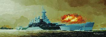 ship models, plastic model ships,U.S.S. North Carolina BB-55 Battleship -- Plastic Model Military Ship Kit -- 1/350 Scale -- #05303