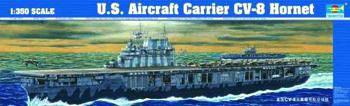 ship models, plastic model ships,USS Aircraft Carrier Hornet CV8 -- Plastic Model Military Ship Kit -- 1/350 Scale -- #05601